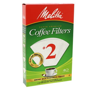 Melita Coffee Filter No 2 40pcs