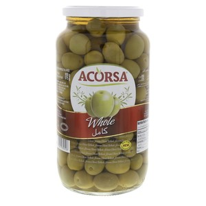 Acorsa Whole Green Olives 575g