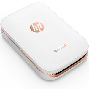 HP Sprocket Photo Printer Z3Z91A White