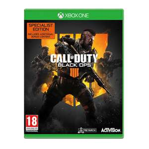 Call Of Duty Black Ops 4 Xbox One Special Edition