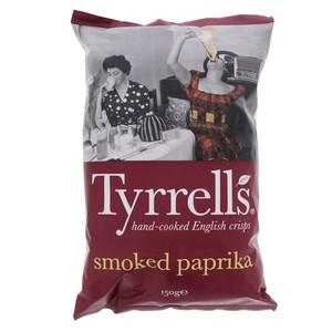 Tyrrells English Crisp Smoke Paprika 150g