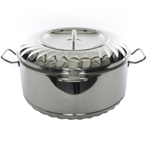 Chefline Stainless Steel Hot Pot Solitaire 5000ml