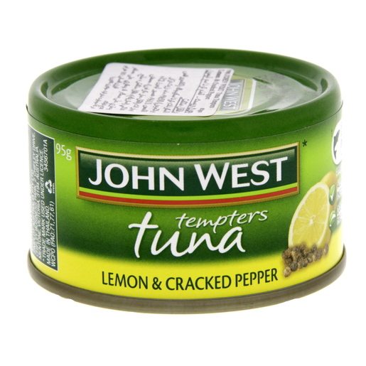 John West Tempters Tuna Lemon And Cracked Pepper 95g