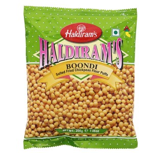 Haldiram's Boondi Salted Fried Chickpeas Flour Puffs 200g