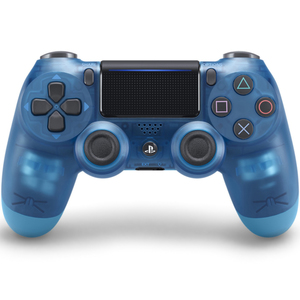 Sony DualShock 4 V2  Controller for PlayStation 4, Blue Translucent