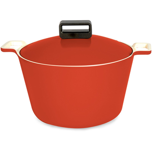 Neoflam Cube Die-Casted Deep Casserole 26cm Assorted Colors