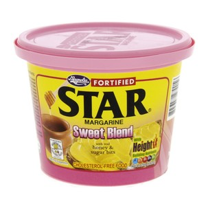Star Margarine Sweet Blend With Real Honey & Sugar Bits 250g