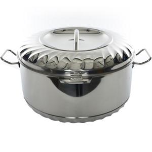 Chefline Stainless Steel Hot Pot Solitaire 3500ml