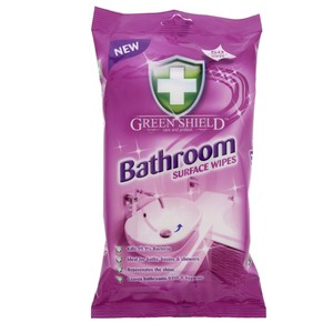 Green Shield Bathroom Surface Wipes 50pcs