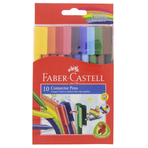 Faber-Castell Connector Pens  10 Pieces