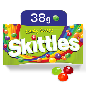 Skittles Candy Sours Pouch 38g