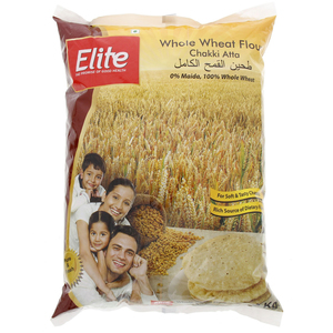 Elite Whole Wheat Flour Chakki Atta 2 Kg