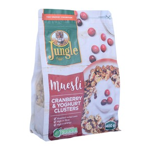Jungle Cranberry Yoghurt Clusters Muesli 400g