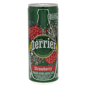 Perrier Strawberry Sparking Natural Mineral Water 250ml