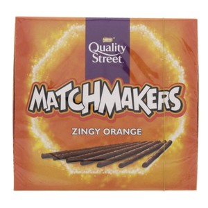 Nestle Quality Street Matchmakers zingy orange 130g
