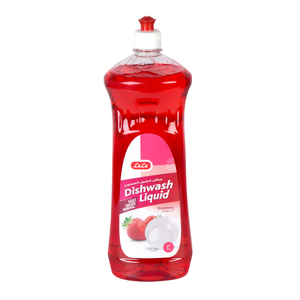 Lulu Dish Wash Liquid Premium Strawberry 1Litre