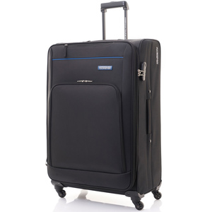 American Tourister Brook 4Wheel Soft Trolley 55cm Black