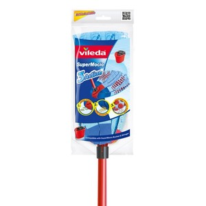 Vileda Super Mop 3 Action Floor Cleaning Mop 1pc