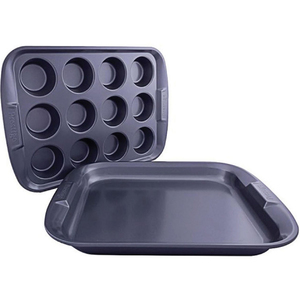 Prestige Oven Tray + Muffin Tin 57995C 12cup