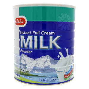 Lulu Full Cream Instant Dry Milk Powder 2.5kg