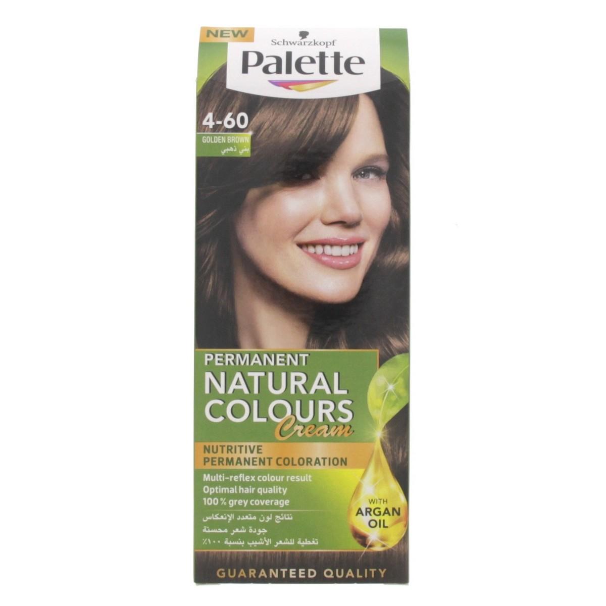 Buy Palette Permanent Natural Color Cream Golden Brown 4-60