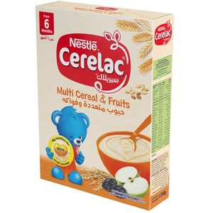 Nestle Cerelac Multi Cereals and Fruits Baby Food 240g