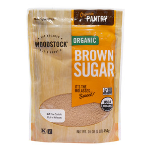 Woodstock Organic Brown Sugar 454g