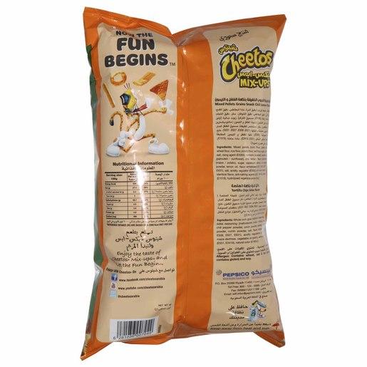 Buy Cheetos Mix Ups Chili Lemon & Salsa 130g - Corn Based