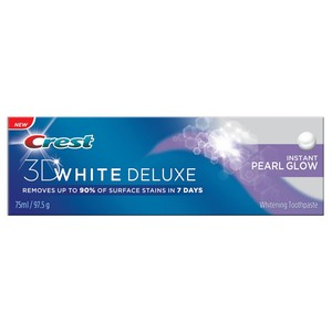 Crest 3D White Deluxe Instant Pearl Glow Toothpaste 75ml