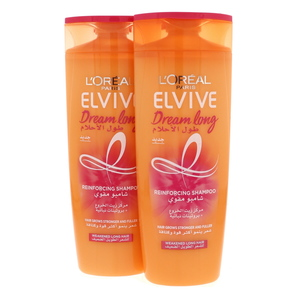 L'Oreal Elvive Dream Long Reinforcing Shampoo 2 x 400ml