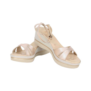 Von Wellx Women's Sandals 10002 Rose Gold