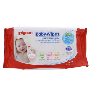 Pigeon Extra Soft & Extra Thick Wipes 82pcs