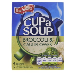 Batchelor Broccoli & Cauli Flower Soup 101g
