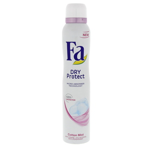 Fa Dry Protect Cotton Mist Doedorant Spray 200ml