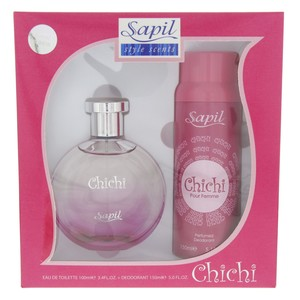 Sapil Chichi Eau De Toilette  For Women 100 Ml + Deodorant 150ml