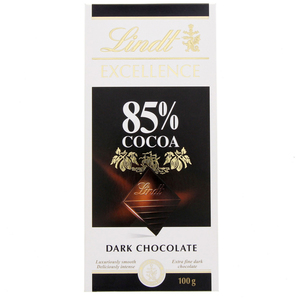 Lindt Excellence 85 % Cocoa Dark Chocolate 100g