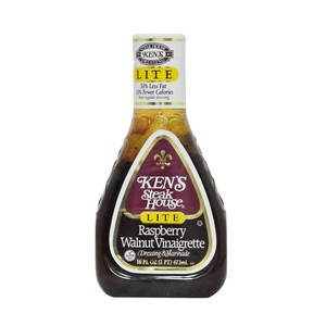 Ken's Lite Raspberry Walnut Vinaigrette Dressing & Marinade 473ml