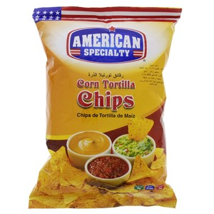 American Specialty Corn Tortilla Chips 200g