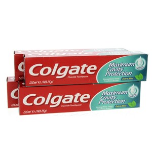 Colgate Fluoride Toothpaste Extra Mint 4 x 125ml