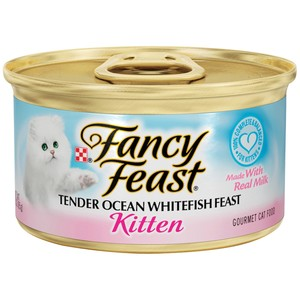 Purina Fancy Feast Kitten Ocean Whitefish Wet Cat Food 85 Gm