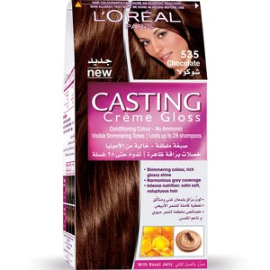 Loreal Casting Cream Gloss Chocolate 535 1 Packet