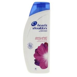 Head & Shoulders Smooth & Silky 2in1 Anti-Dandruff Shampoo with Conditioner 600 ml