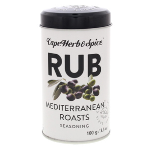 CapeHerb&Spice Rub Mediterranean Roasts Seasoning 100g
