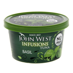 John West Infusions Tuna Basil 80g