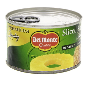 Del Monte Sliced Pineapple In Syrup 235g