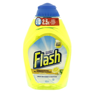 Flash Febreze Concentrated All Purpose Cleaner Crisp Lemons 400ml