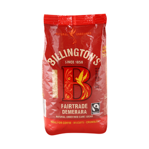 Billington's Fairtrade Demerara Natural Unrefined Cane Sugar 500 Gm