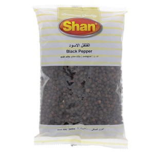 Shan Black Pepper Whole 200g