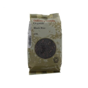 Infinity Foods Organic Black Rice 500g