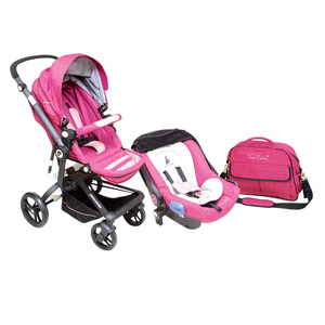 Pierre Cardin Stroller With Car Seat PS841BTS (Color may vary)